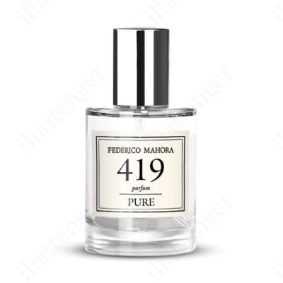 FM419 Davidoff - Cool Water parfüm- GYÜMÖLCSÖS JEGYEKKEL-30ml