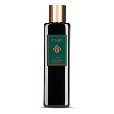 Utique Luxus tusfürdő gél pacsuli&szantálfa illatával-200ml