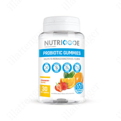 NUTRICODE- PROBIOTIKUM-Étrendkiegészítő zselé/30db