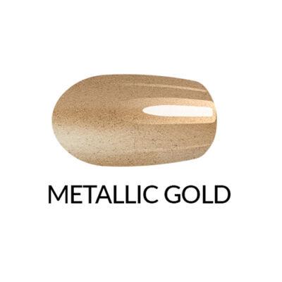 Körömlakk Gel Finish - metálos-arany -11 ml
