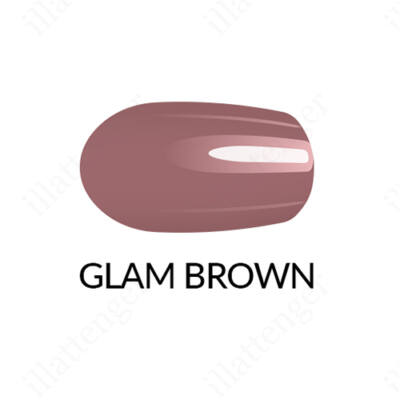 Körömlakk Gel Finish - Glam Brown- 11 ml