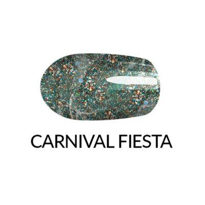 Gélhatású körömlakk- gyöngyházas fesztiválszín