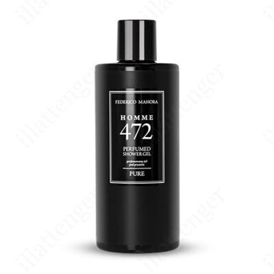 FM472 – CREED - Aventus-szerű FÉRFI illatosított tusfürdő-300ml