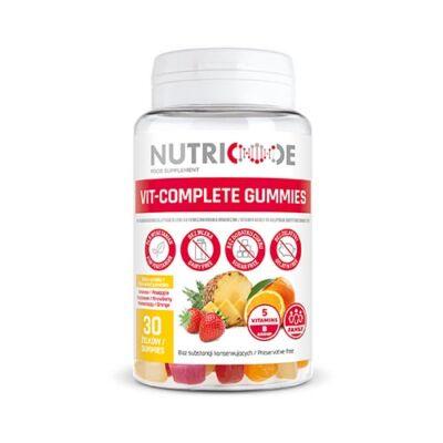 VIT-COMPLETE GUMMIES- Tökéletes vitaminforrás- étrendkiegészítő- 60gr