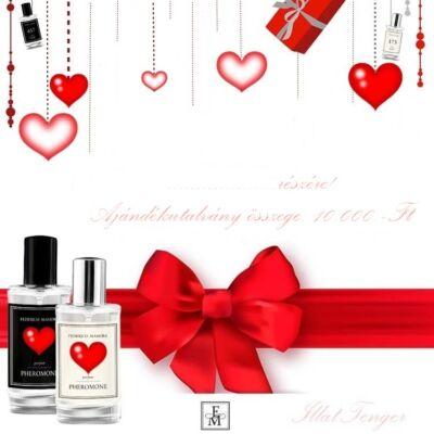 Parfüm-ajándékutalvány