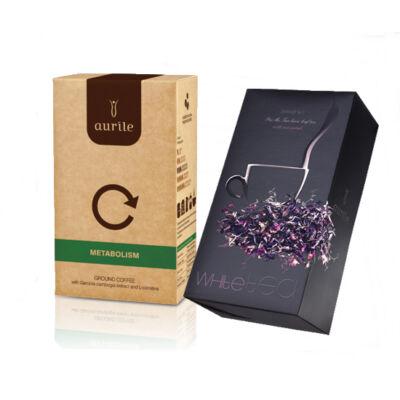 AURILE Serenity fehér tea  + AURILE Metabolism kávé